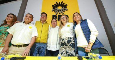 Celebra Víctor Manríquez voluntad política en renovación de dirigencia municipal del PRD