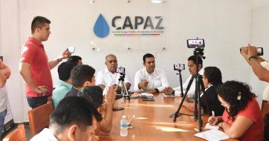 Logro para resaltar, saneamiento financiero de la CAPAZ: alcalde Sánchez Allec