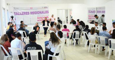 Servidores públicos municipales participan en taller regional sobre alerta de género