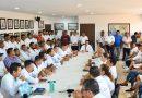 Presidente Jorge Sánchez Allec reconoce esfuerzo de colaboradores en tema de cruceros