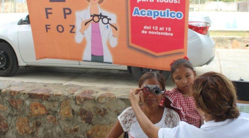 *Beneficiadas más de 800 personas con jornada visual* Acapulco