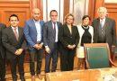 ACUERDAN ADELA ROMÁN Y GOBIERNO FEDERAL REDUCIR TARIFA ELÉCTRICA A CAPAMA.